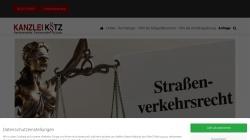 www.verkehrsrechtsiegen.de Vorschau, Rechtsanwälte Kotz