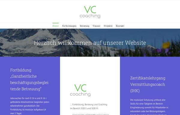 Vorschau von www.vermittlungscoach.de, Deutscher Vermittlungscoach-Verband e.V.