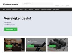 Verrekijkerzaak.nl screenshot