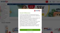 www.versandapo.de Vorschau, versandapo.de, Pelikan-Apotheke Frankenthal