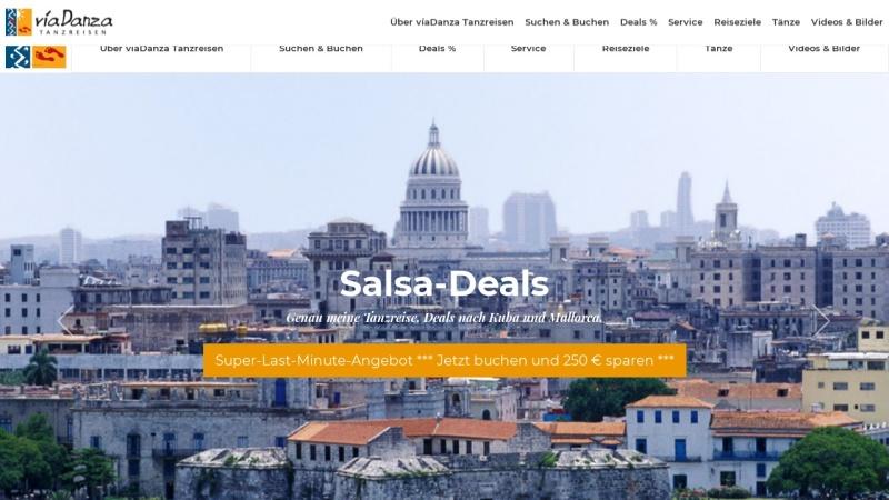 www.viadanza.de Vorschau, Via Danza Tanzreisen