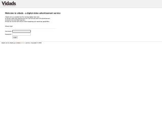 Screenshot για την ιστοσελίδα vidads.gr