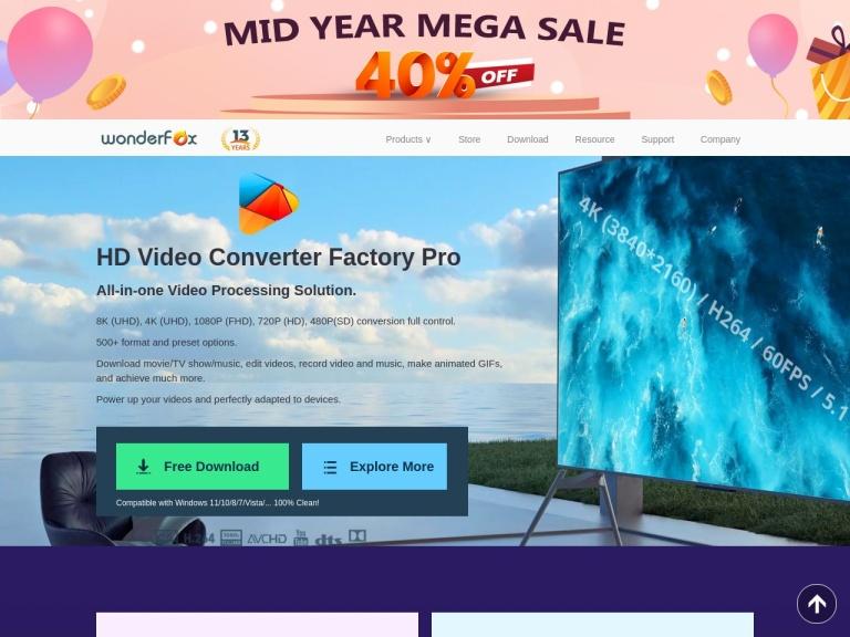 WonderFox Soft (Xiaofan) screenshot
