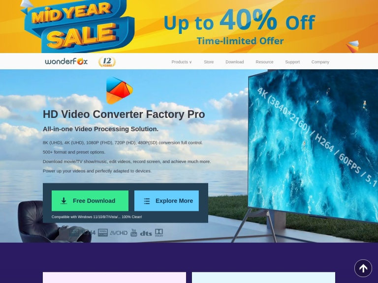 Wonderfox Soft Coupon Codes screenshot