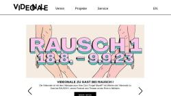 www.videonale.org Vorschau, Videonale im Kunstmuseum Bonn