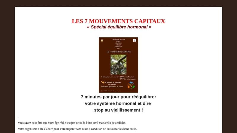les 7 mouvements capitaux
