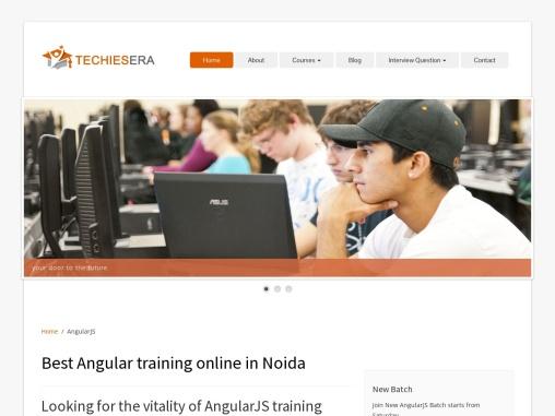 Best Angular Training in Noida