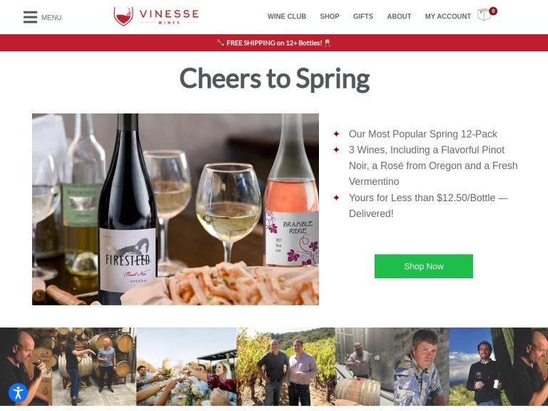 Vinesse Wines screenshot