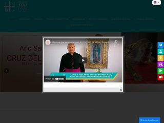 Captura de pantalla para virgendeguadalupe.mx