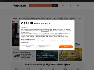screenshot virgilio.it