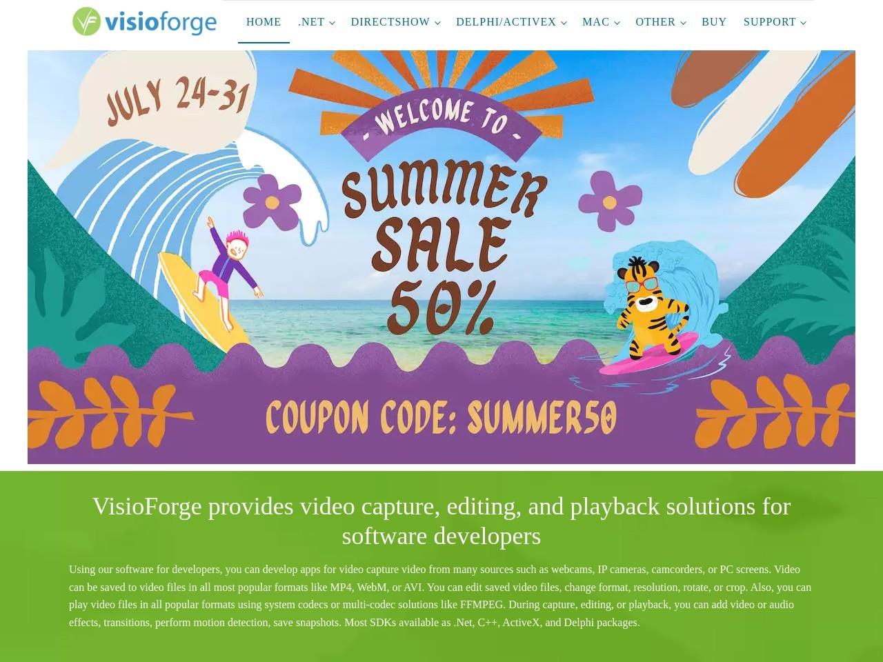 VisioForge .Net Bundle Premium - One Developer