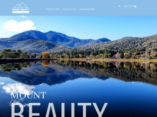 Screenshot for visitmountbeauty.com.au
