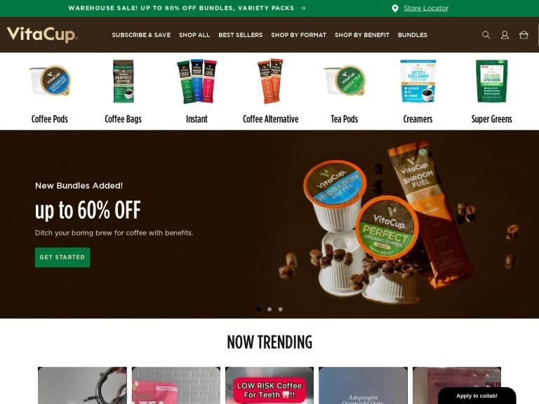 VitaCup screenshot
