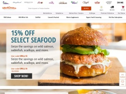 Vital Choice Wild Seafood & Organics screenshot