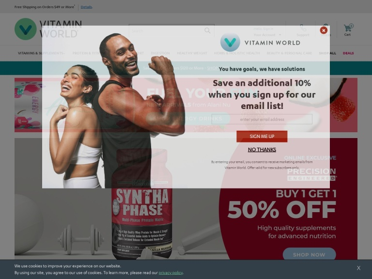 Vitamin World screenshot