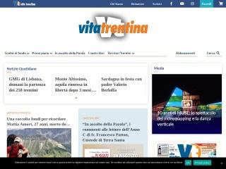 screenshot vitatrentina.it