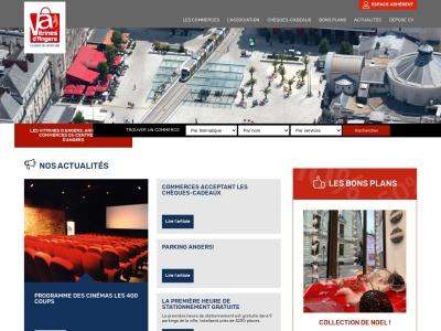 Vitrines-Angers.com : annuaire des commerces d'Angers