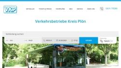 www.vkp.de Vorschau, VKP Verkehrsbetriebe Kreis Plön GmbH