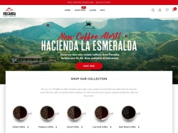 Volcanica Coffee screenshot