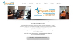 www.vollbracht-physio-worms.de Vorschau, Physiotherapie am Bahnhof - Bettina Vollbracht