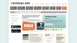 www.vorleser.net Vorschau, Vorleser.net - Literatur zum Hören