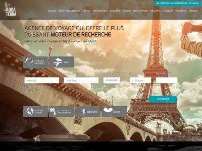 Aquaterra: agence de voyage pas cher
