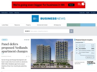 Screenshot for wabusinessnews.com.au