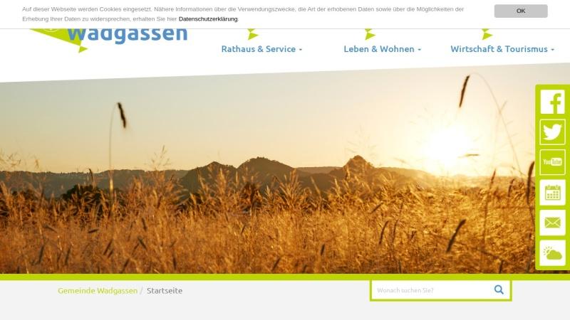 www.wadgassen.de Vorschau, Gemeinde Wadgassen