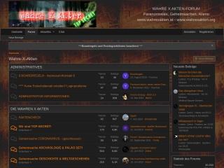 Screenshot der Website wahrexakten.at