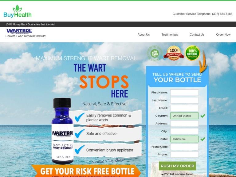 Wartrol screenshot