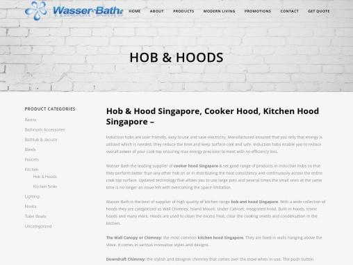 Hob and Hood Singapore | hob & hood singapore
