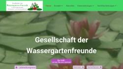 www.wassergarten.de Vorschau, Gesellschaft der Wassergarten-Freunde e.V.