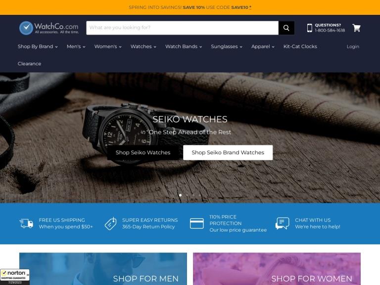 The Watch Co screenshot