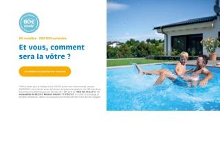 Capture d'écran pour waterair.fr