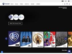 Warner Bros. Online Shop screenshot