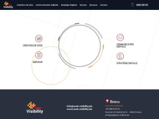 Screenshot voor web-visibility.be