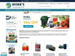 Webb's Water Gardens