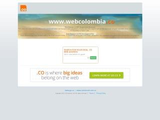 Captura de pantalla para webcolombia.co
