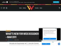 What's New for Web Designers – Mar 2011