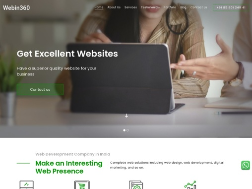 Website design and development company | Professional web design services