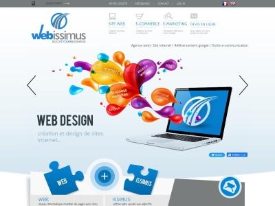 Webissimus : Création de sites à Liège