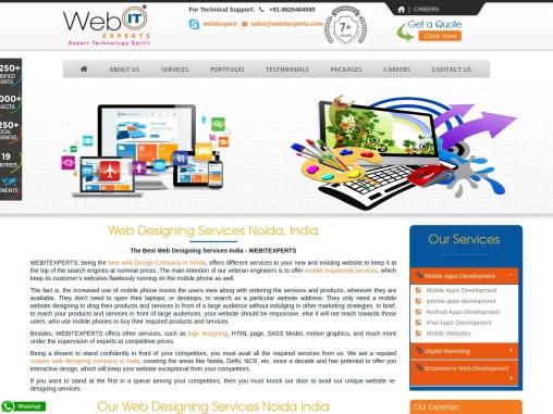Web designing Services in noida,India