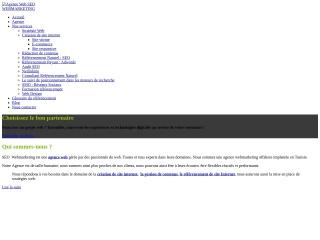 Capture d'écran pour webmarketing-seo.fr