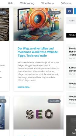 Vorschau der mobilen Webseite www.webmasternetz.de, WebmasterNetz