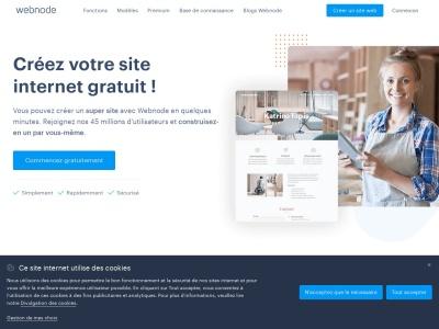 Créez votre site web gratuit avec Webnode !