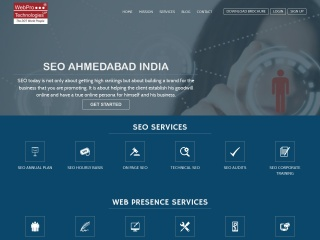 Screenshot for webpro.in