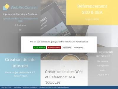 WebProConseil - Optimisation de sites internet