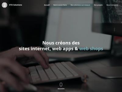 WebRapide : création de site web facile
