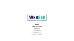 www.webseo.biz Vorschau, Webseo.biz, Sven Hauswald