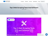 Top 5 Web Scraping Tools and Software